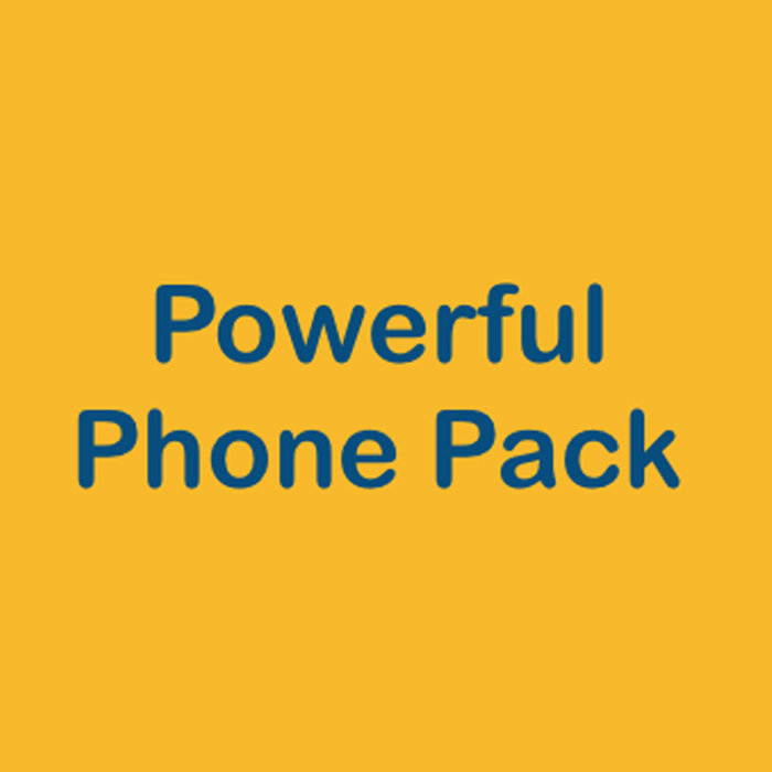 Powerful Phone Pack. Fortunate Trader Make It Happen Trading Stock Market